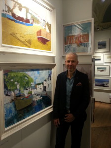 Oxford International Art Fair – selling from the Heart